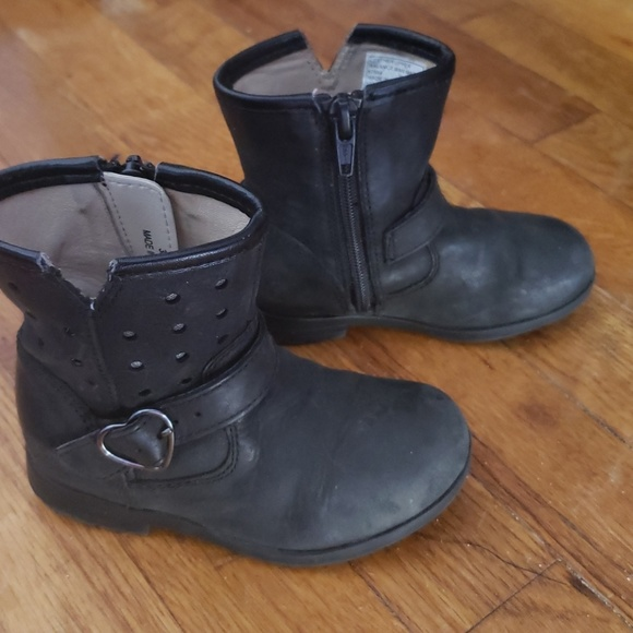 Clarks Shoes   Baby Girl Black Leather